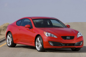 Hyundai Genesis Coupe Front